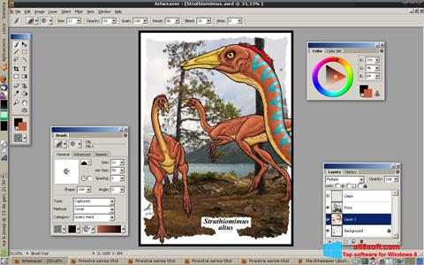 Ekraanipilt Artweaver Windows 8