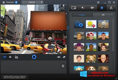 Ekraanipilt CyberLink YouCam Windows 8