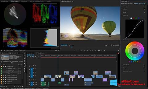 Ekraanipilt Adobe Premiere Pro Windows 8