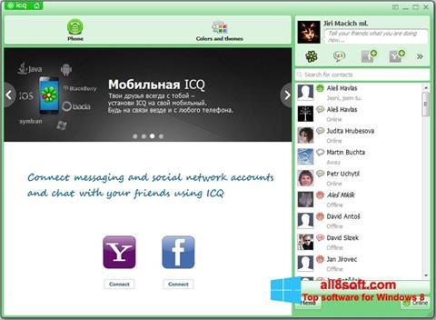Ekraanipilt ICQ Windows 8