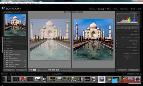 Ekraanipilt Adobe Photoshop Lightroom Windows 8