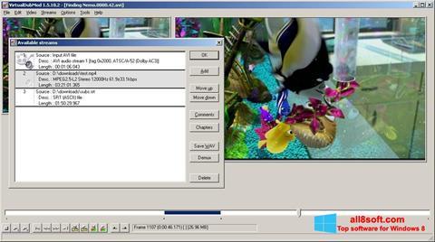 Ekraanipilt VirtualDubMod Windows 8