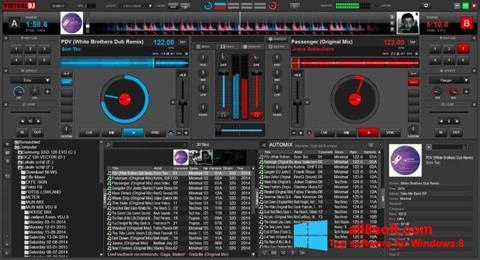 Ekraanipilt Virtual DJ Windows 8