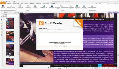 Ekraanipilt Foxit Reader Windows 8