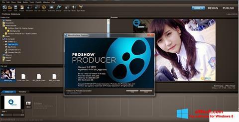 Ekraanipilt ProShow Producer Windows 8