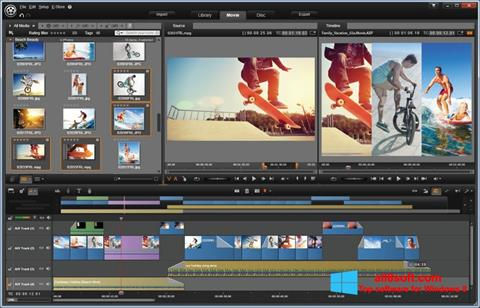 Ekraanipilt Pinnacle Studio Windows 8