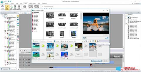 Ekraanipilt VSDC Free Video Editor Windows 8