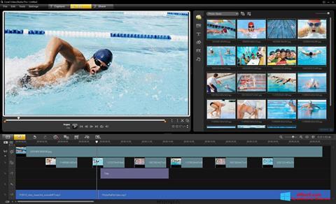 Ekraanipilt Corel VideoStudio Windows 8