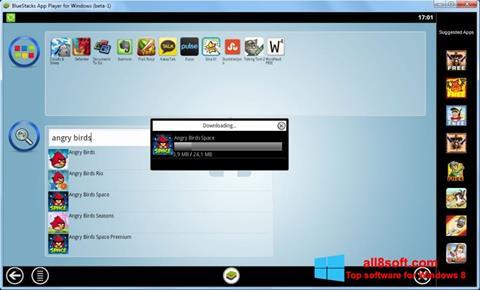Ekraanipilt BlueStacks Windows 8