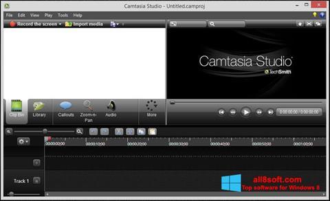Ekraanipilt Camtasia Studio Windows 8