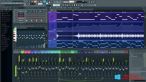 Ekraanipilt FL Studio Windows 8